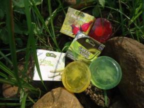 sabun transparan green soap sitro soap