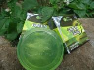 sabun transparan green soap