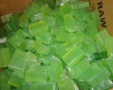 sabun transparan hijau